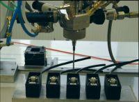 Dynamischer Mischer zum automatisierten Verguss
